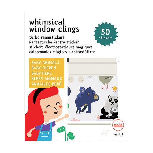 Makii Window clings Animals