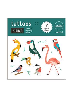 Makii Tattoos BIRDS