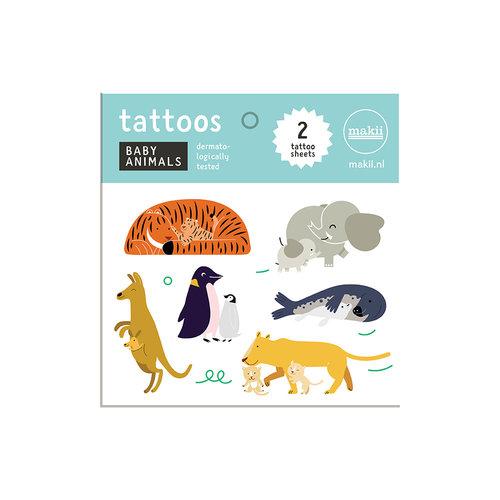 Makii Tattoos BABY ANIMALS