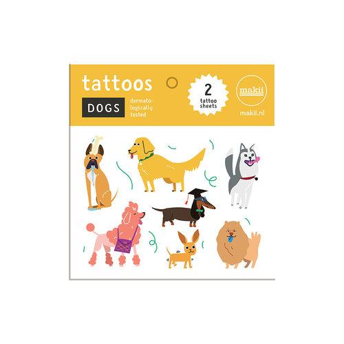 Makii Tattoos DOGS