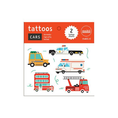 Makii Tattoos CARS
