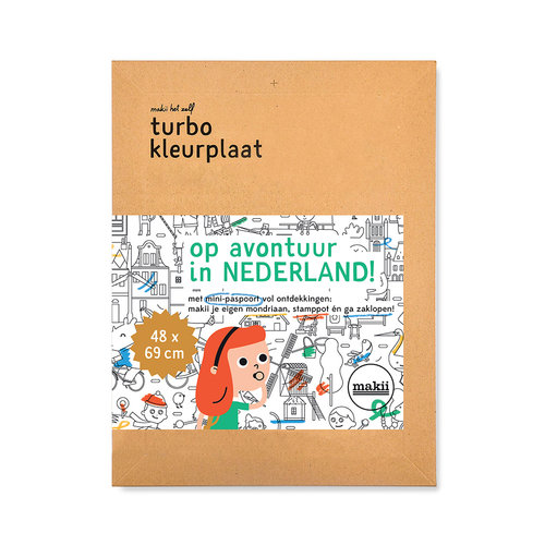 Makii Colouring pictures NEDERLAND