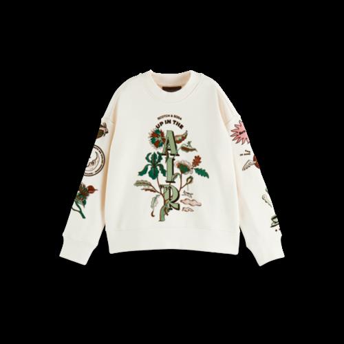 Scotch & Soda Crew neck sweatshirt 163006