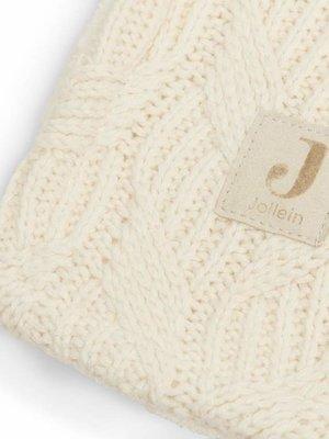 Jollein Deken  75 x 100cm  spring knit ivory fleece