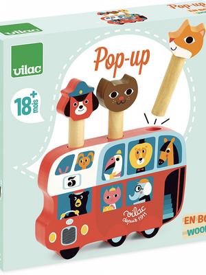 vilac Pop-up bus