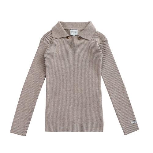Donsje Thomas Sweater grey melange