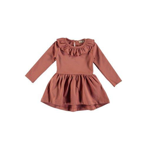 PEXI LEXI Dress Ruffle Cayon rose