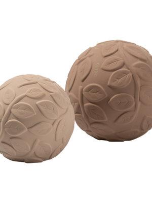 Natruba Sensory Ball set leaf-earth