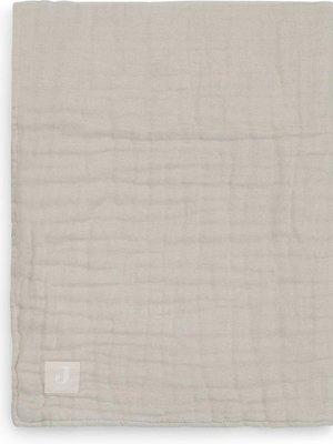 Jollein Wiegdeken wrinkled cotton 75x100 nougat