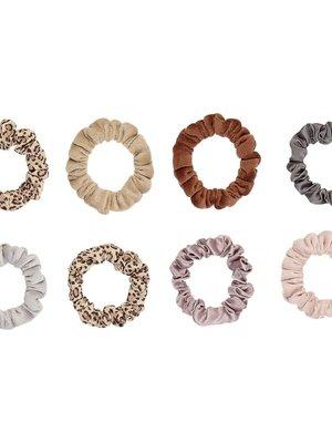 Mimi & Lula Leopard mini scrunchies