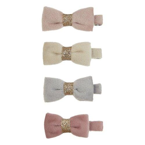 Mimi & Lula Tinkerbell velvet bow clips