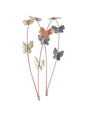 Mimi & Lula Shimmer butterfly double alice band