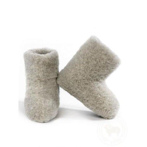 Alwero Sloffen special boots licht grijs
