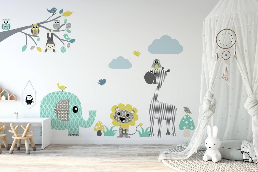 Disney muurstickers marie aristocats kopen inrichting en decoratie