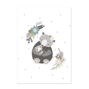 Poster kinderkamer Little hugs 1