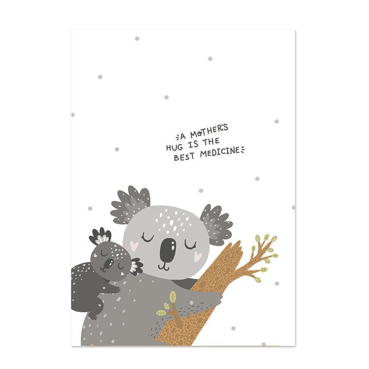 Poster kinderkamer Little hugs 3
