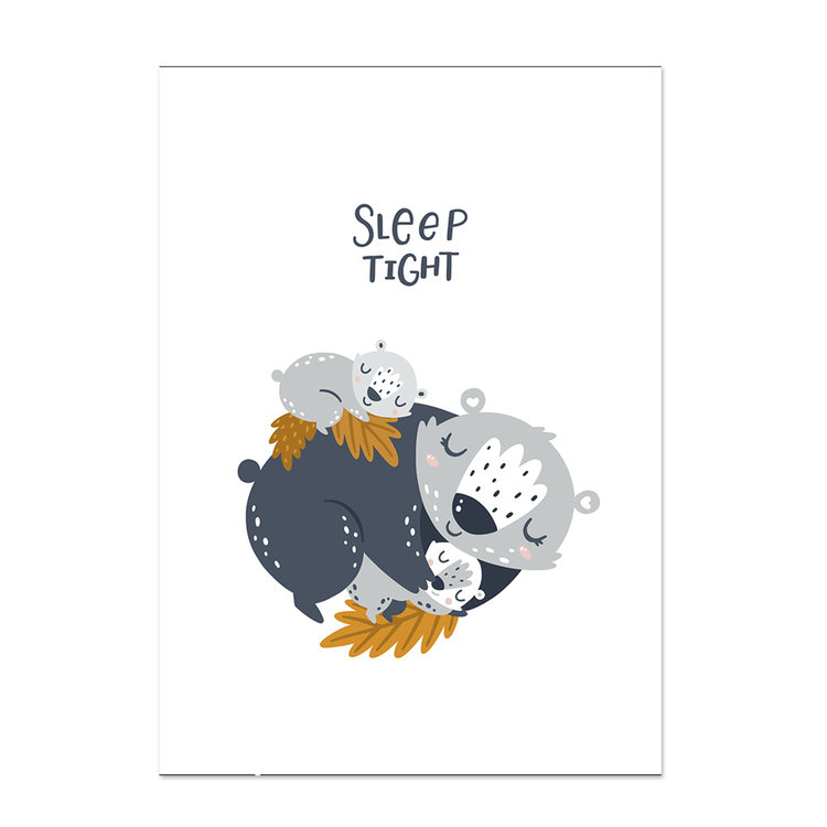 Poster kinderkamer Little hugs 5