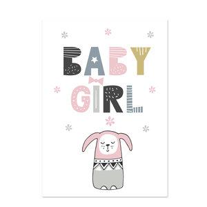 Poster kinderkamer Baby Girl 2