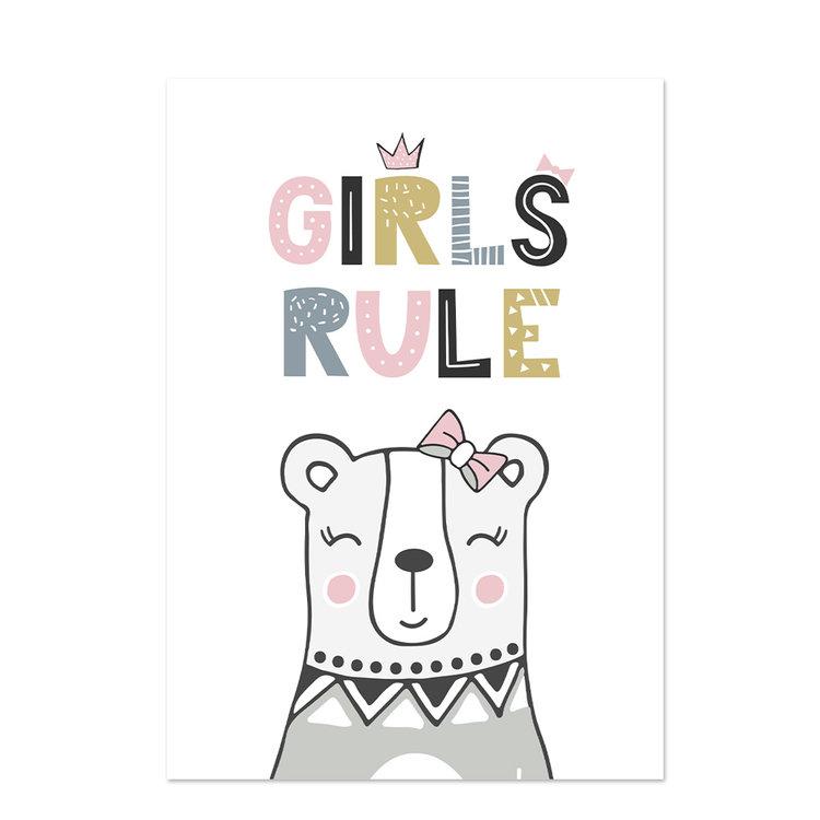 Poster kinderkamer Baby Girl 5