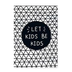 Poster kinderkamer Black & White 4