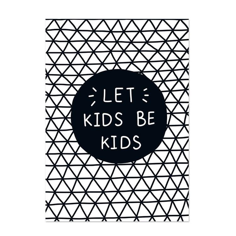 Poster kinderkamer Black & White 4