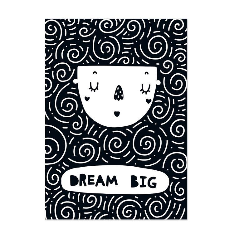 Poster kinderkamer Black & White 5