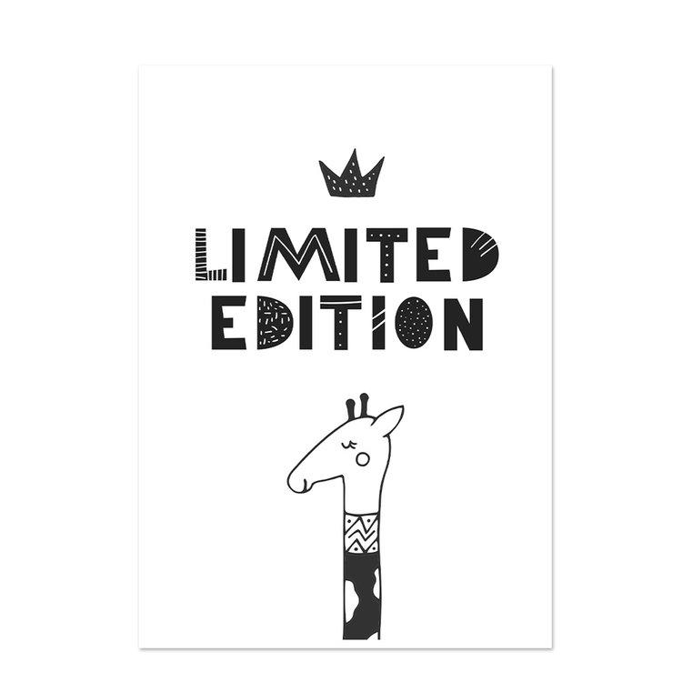 Poster kinderkamer Black & White 15