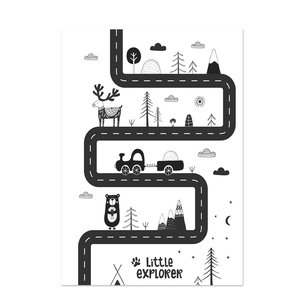 Poster kinderkamer Black & White 20