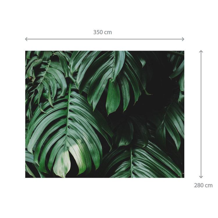 Behang Tropical leaves - 2
