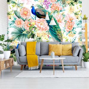 Behang Paradise 1 - white
