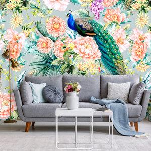 Behang Paradise 1 - grey