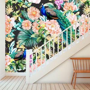 Behang Paradise 1 - black