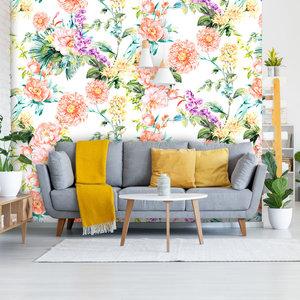Behang Paradise 2- white