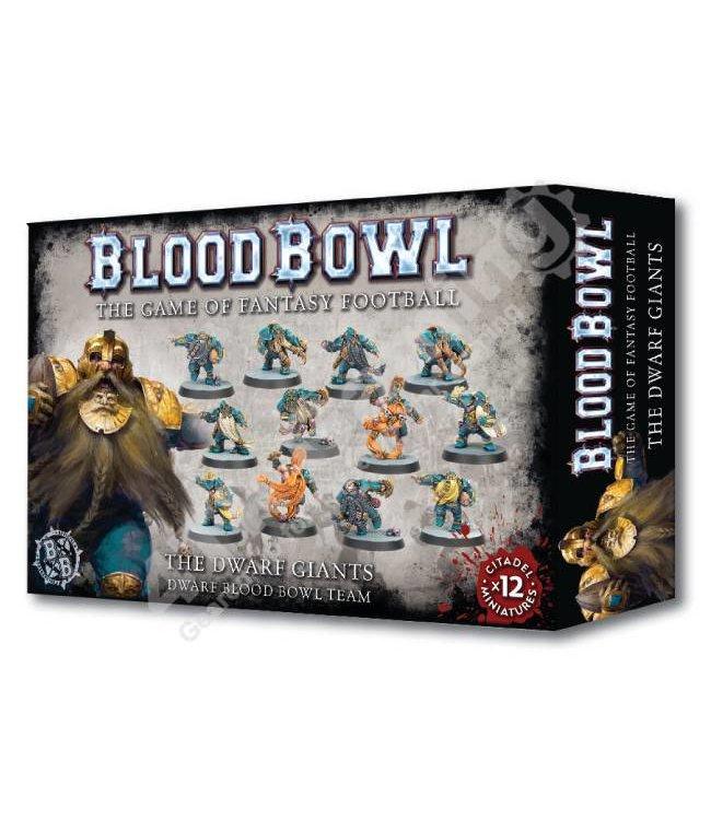 Blood Bowl The Dwarf Giants Blood Bowl Team