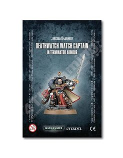 #Deathwatch Watch Capt./Terminator Armour