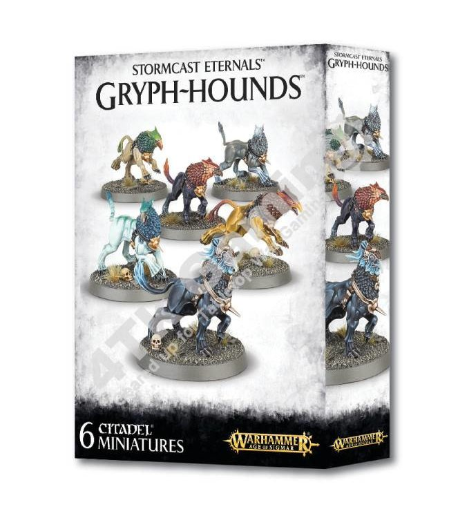 Age Of Sigmar Stormcast Eternals Gryph-Hounds