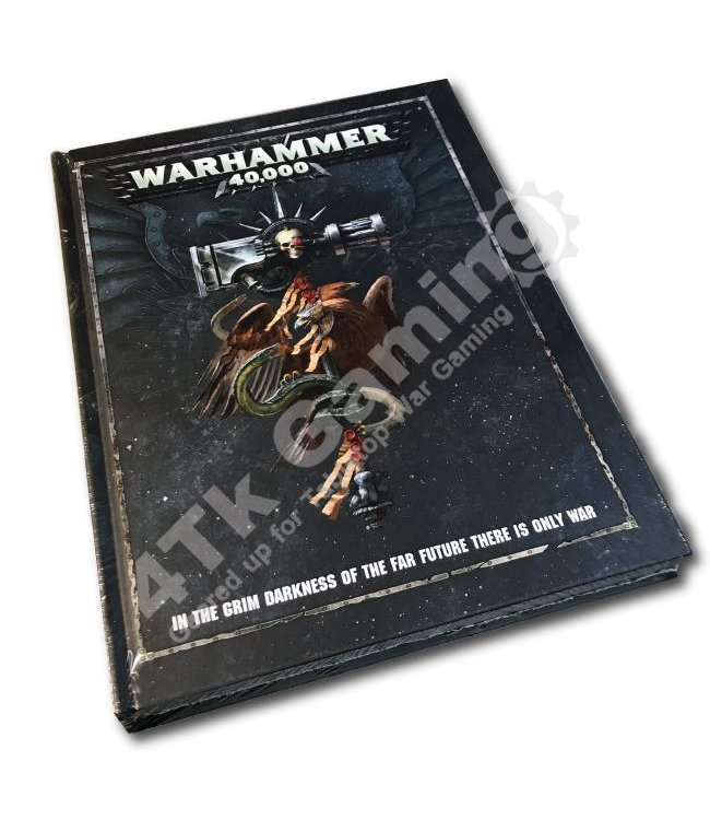Games Workshop Warhammer 40000 Rulebook