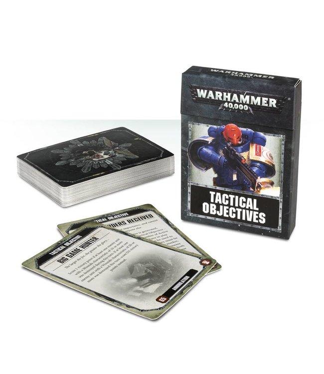 Games Workshop *Wh40K: Tactical Objective Cards
