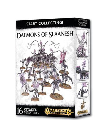 Age Of Sigmar Start Collecting! Daemons Of Slaanesh