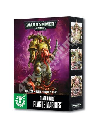 Games Workshop Easy To Build Death Guard Plague Marines