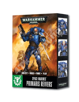 Games Workshop Easy To Build S/Marines Primaris Reivers