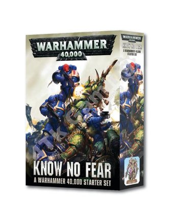 Games Workshop Warhammer 40000: Know No Fear