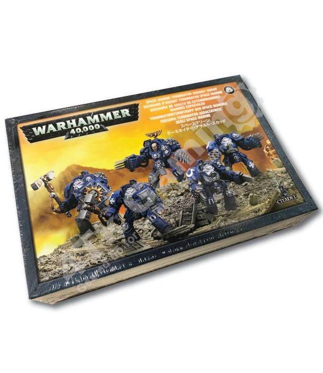 Games Workshop Space Marine Terminator Assault Squad