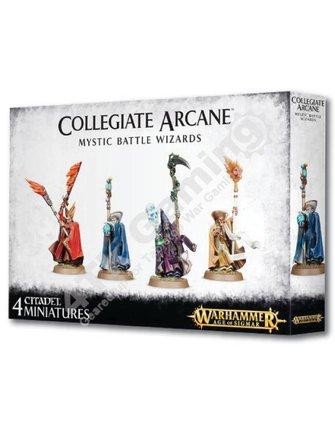 Age Of Sigmar #Collegiate Arcane Mystic Battle Wizards