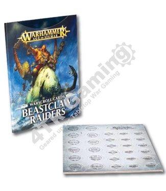 Age Of Sigmar *Warscrolls: Beastclaw Raiders
