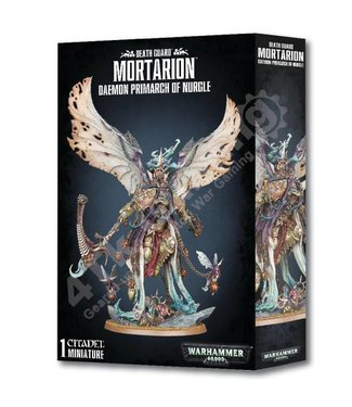 Games Workshop Mortarion Daemon Primarch of Nurgle