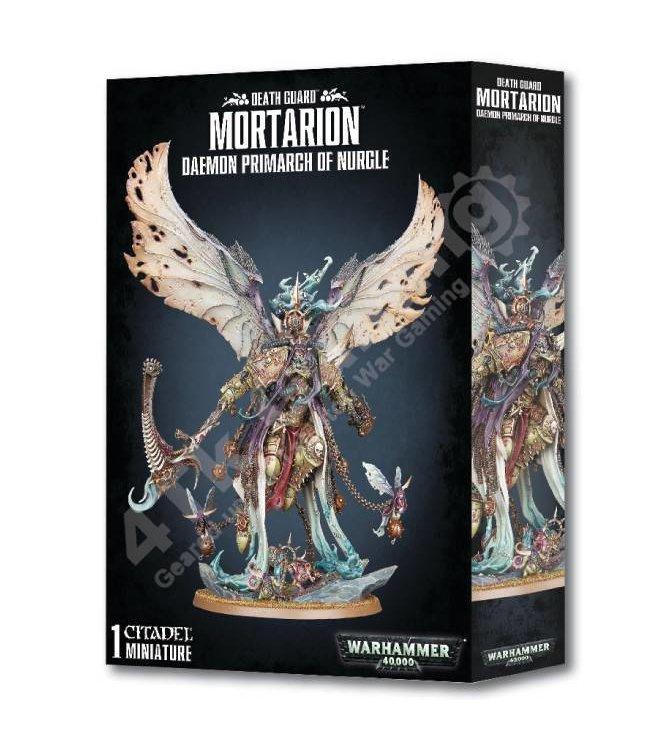 Games Workshop Mortarion Daemon Primarch of Nurgle