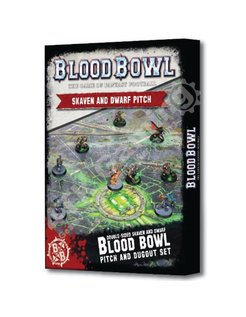 *Blood Bowl: Skaven and Dwarf Pitch