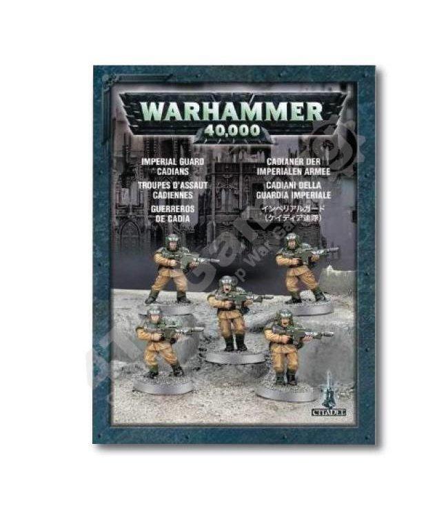 Games Workshop Astra Militarum Cadians