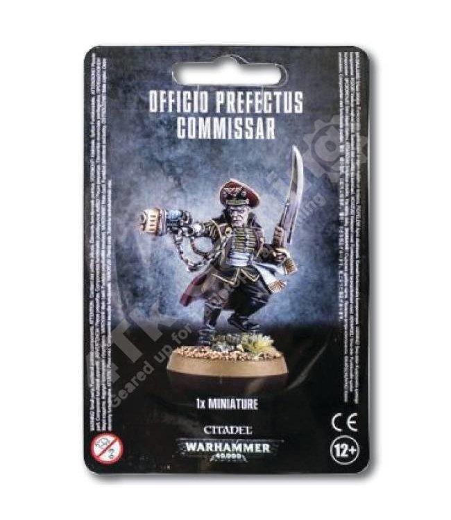 Games Workshop Officio Prefectus Commissar